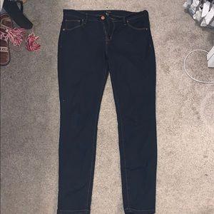 Forever 21 skinny jeans size 29 dark wash like new
